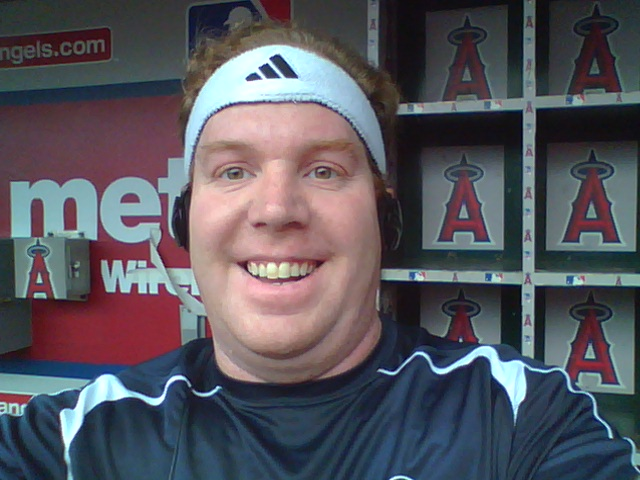 Yes, I'm in the dugout!