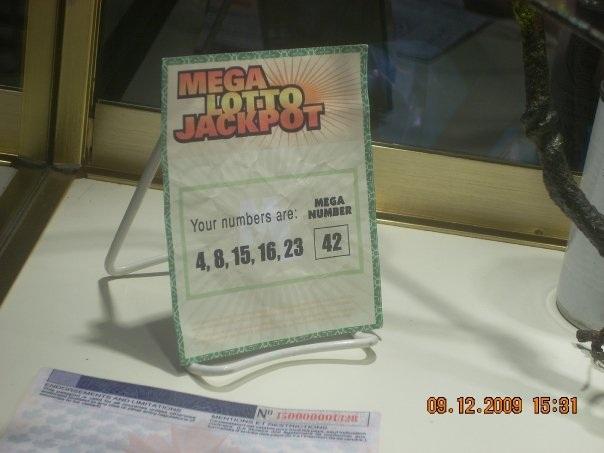 Lottory Winning Ticket