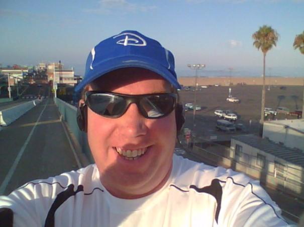 Ready to start my 11 mile run!