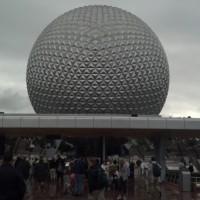 Ending Day 3 at EPCOT during my Walt Disney World Marathon Trip