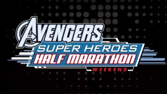 Avengers Super Heroes Half Marathon Logo