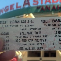 Angels Stadium Tour on my 40th Birthday
