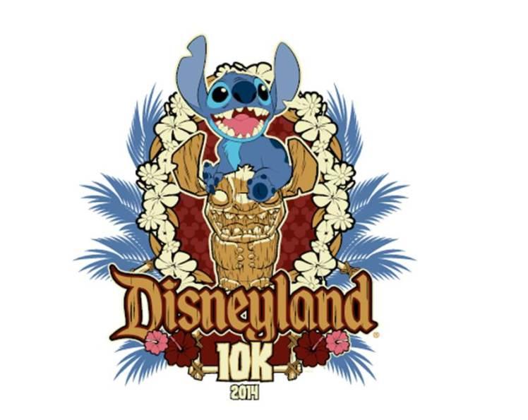 Disneyland 10K Logo