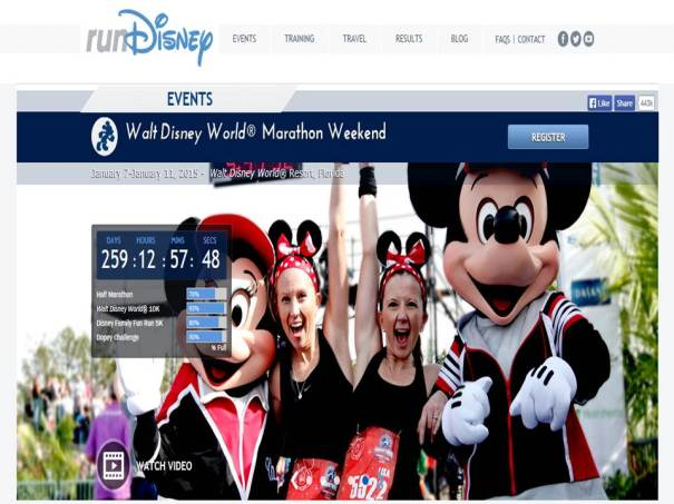2015 Walt Disney World Marathon Week Registration is Open!