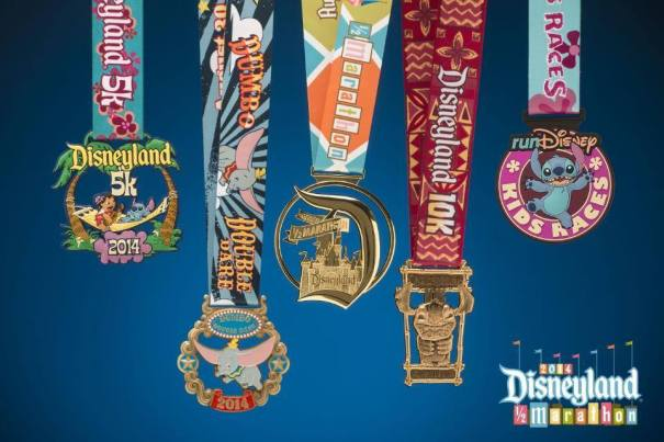 Disneyland Half Marathon Medals Revealed and a Virtual Trip to Disneyland
