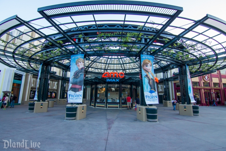 Frozen Banners - Downtown Disney AMC