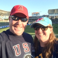 Celebrating Independence Day with the Los Angeles Galaxy
