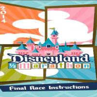 2014 Disneyland Half Marathon Final Instructions, Corrals, and Wine and Dine Medals Revealed