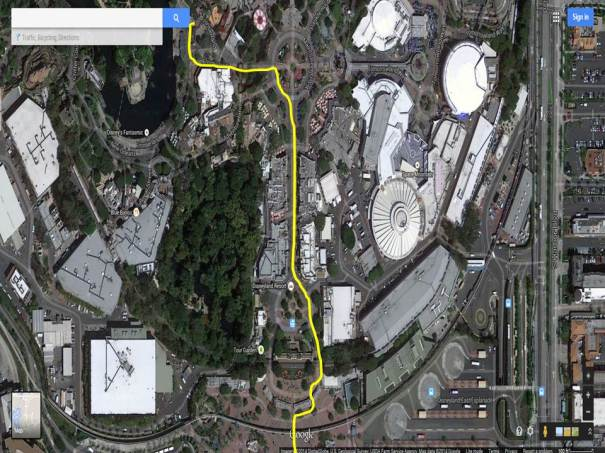 Examining the Disneyland Half Marathon Course - Disneyland