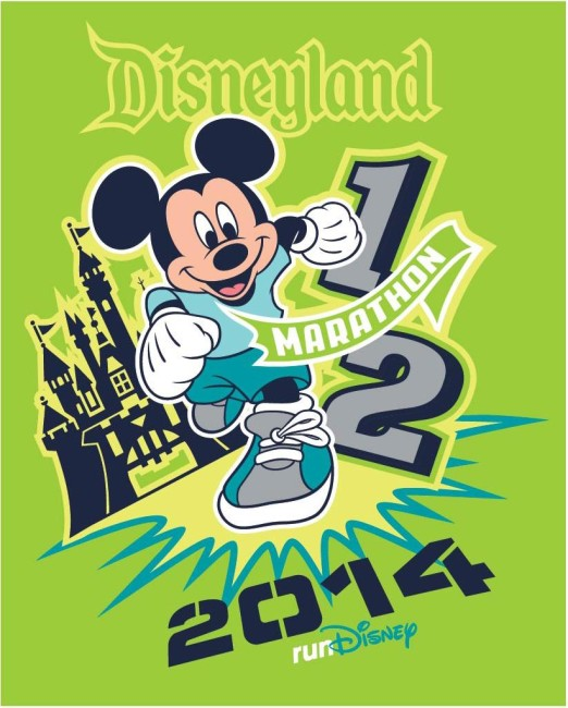 Disneyland Half Marathon Mickey Green