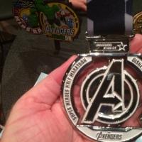 Fantasmic Week 1 of Training for the Avengers Super Heroes Half Marathon!