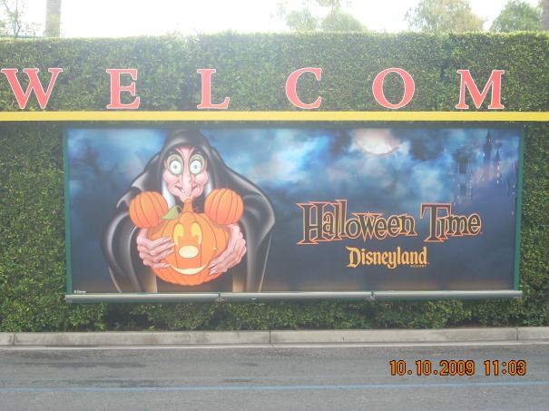Visiting Disney California Adventure at Halloween Time in 2009 for this Throwback Thursday