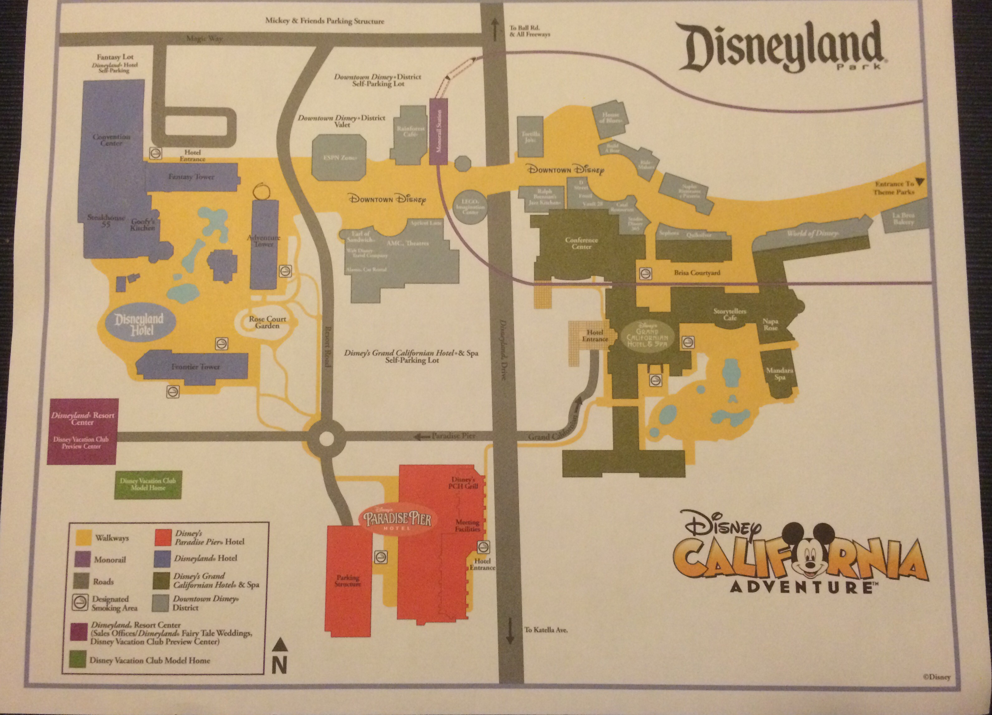 Staying At The Disneyland Hotel Was Absolute Magic Why I RunDisney - Los angeles map disneyland