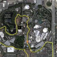 First Look at the Avengers Super Heroes Half Marathon Course - The Theme Parks