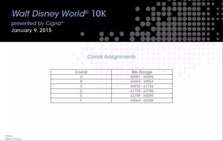 WDW 10K Corrals