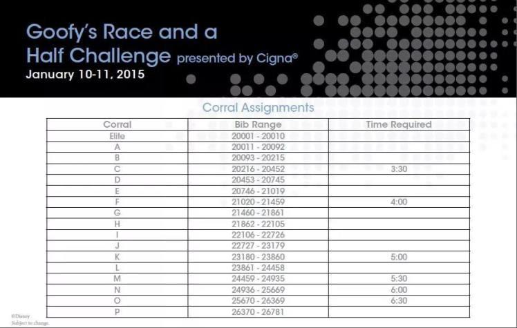 WDW Goofy Challenge Corrals