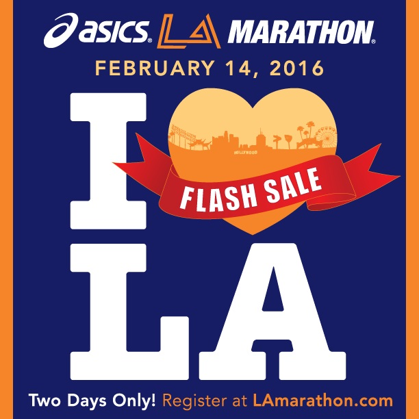 2016 LA Marthon Flash Sale