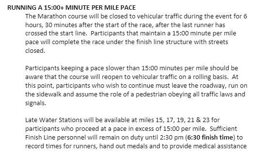 LA Marathon Final Race Instructions – It's Getting Real