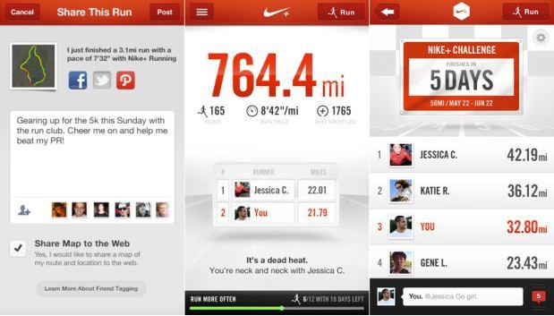 Nike Plus App