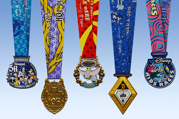 Disneyland Half Marathon Weekend All-Medals