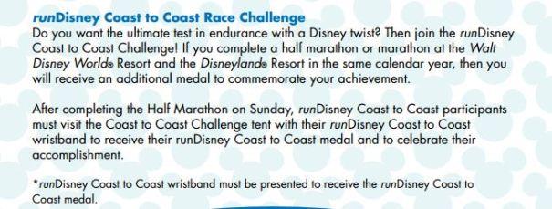Coast to Coast Challenge Instructions