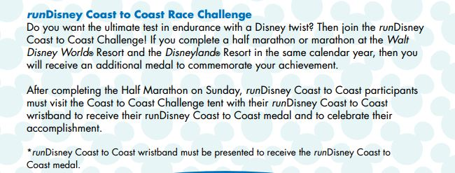 Coast to Coast Challenge Instructions