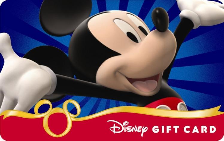 Disney Gift Card