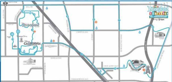 DL Half Marathon Map 2015