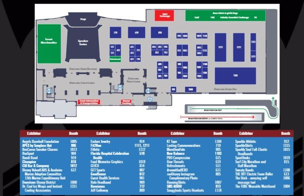 Avengers Guide Expo Upper Level Map