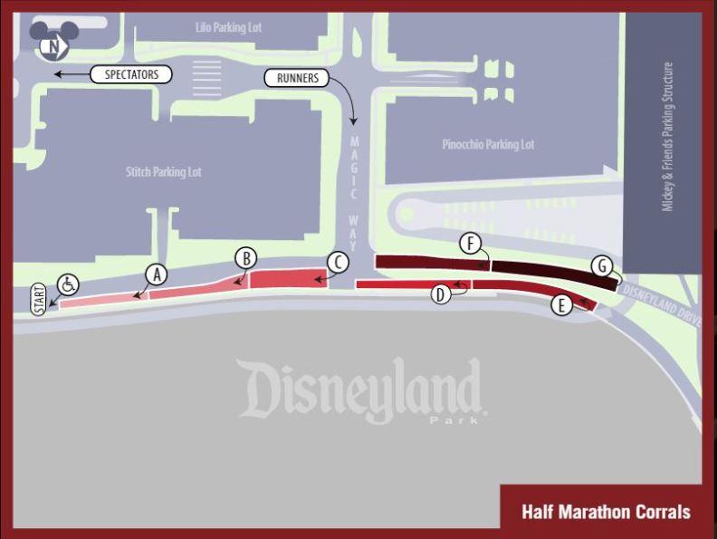 Avengers Guide Half Marathon Corrals Lineup Large