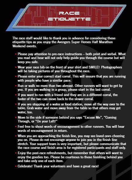 Avengers Guide Race Etiquette