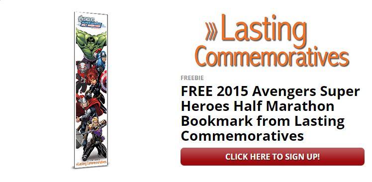 Avengers Lasting Commemoratives Book Mark