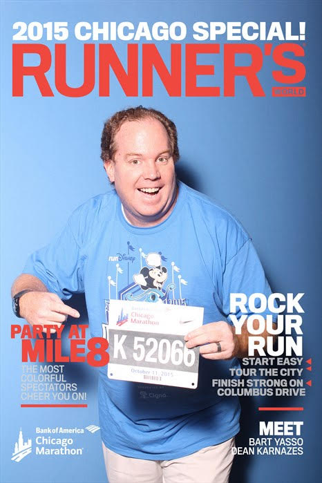 Runners World Cover Chicago