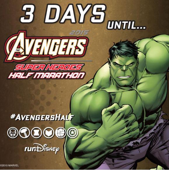 Avengers Countdown 3 Days