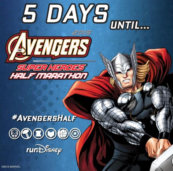 Avengers Countdown 5 Days