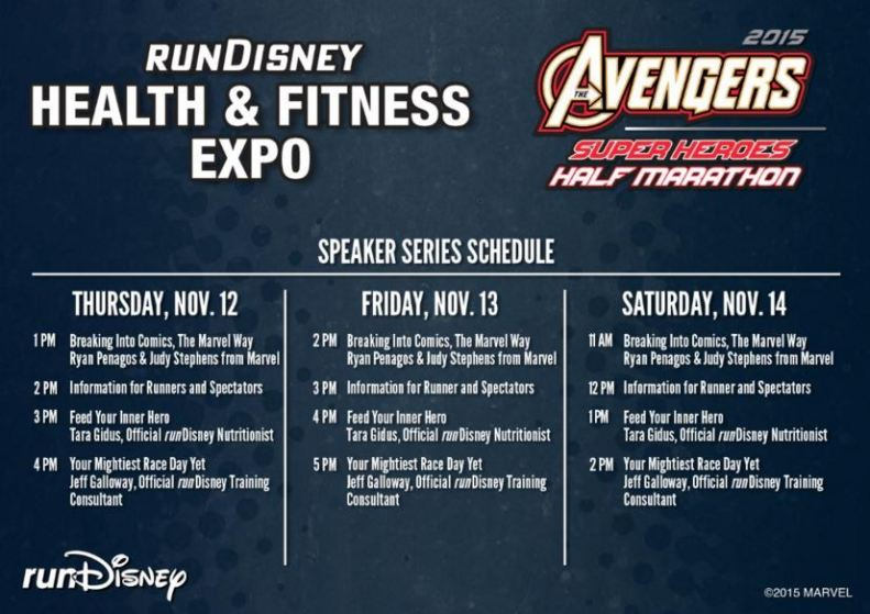 Avengers Expo Speakers