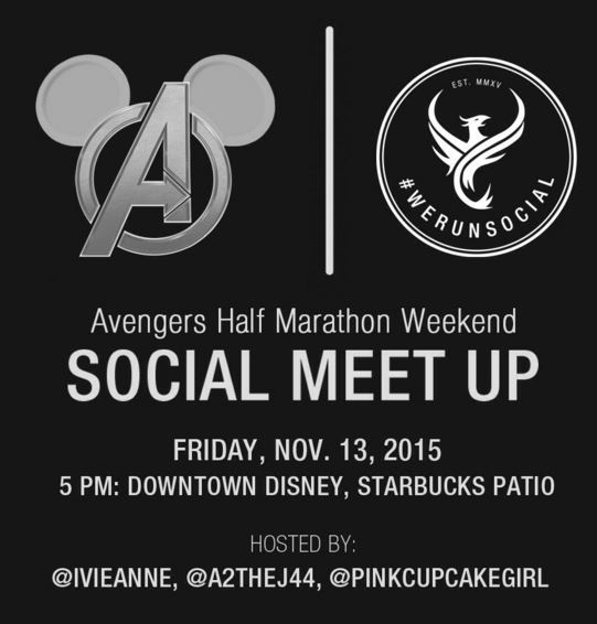 Avengers We Run Social Meet Up