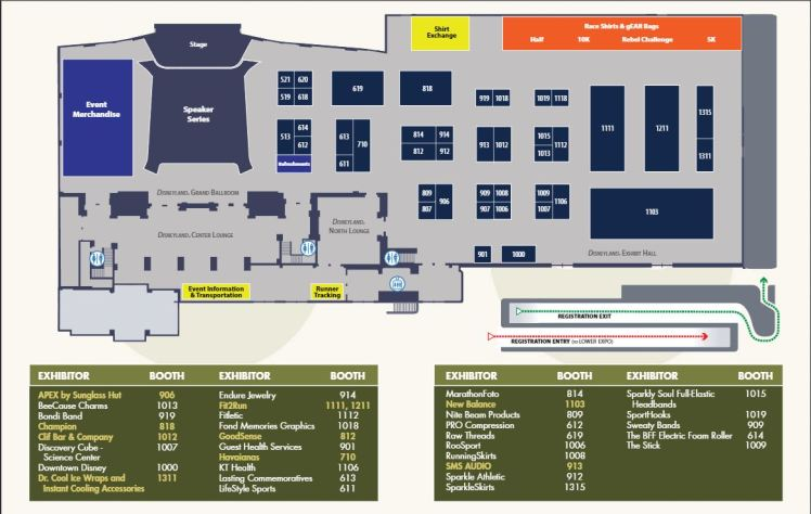 Star Wars Expo Main Floor