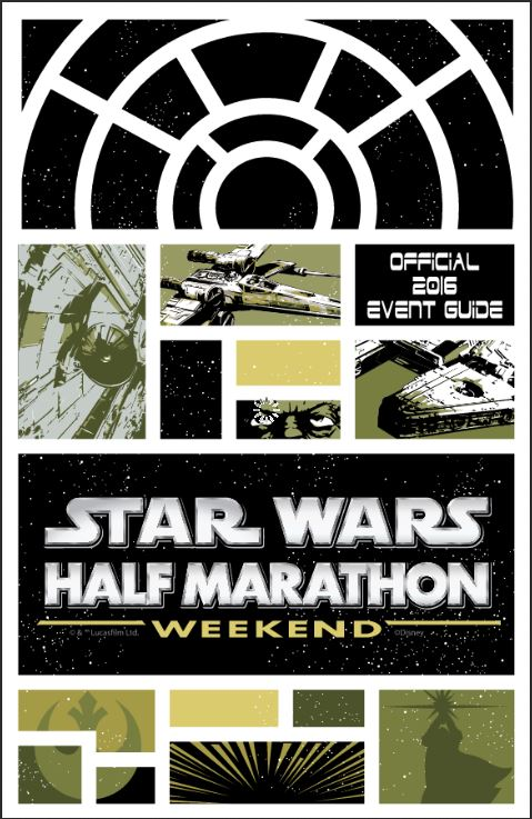 Star Wars Half Marathon Event Guide Cover