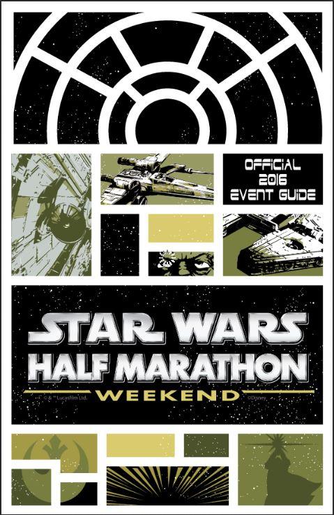 Star Wars Half Marathon Event Guide Cover