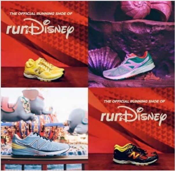 2016 New Balance Run Disney Shoes