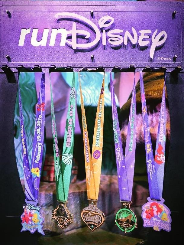 Princess Half Marathon Medals (2)
