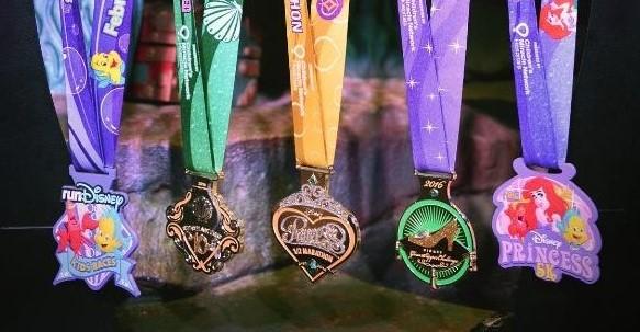 Princess Half Marathon Medals (3)