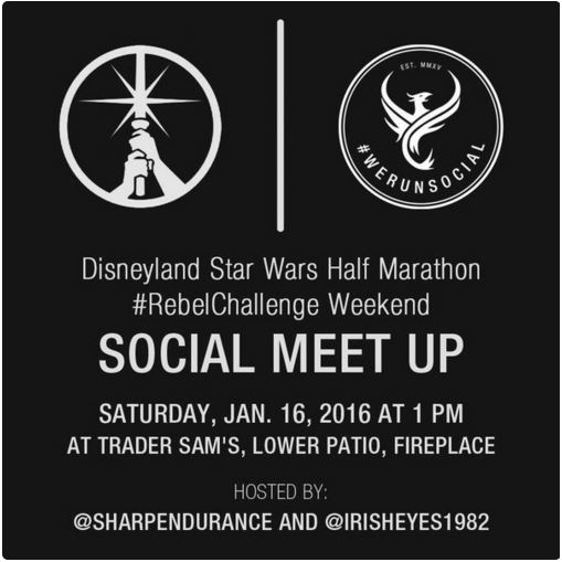 Rebel Challenge We Run Social Meet Up