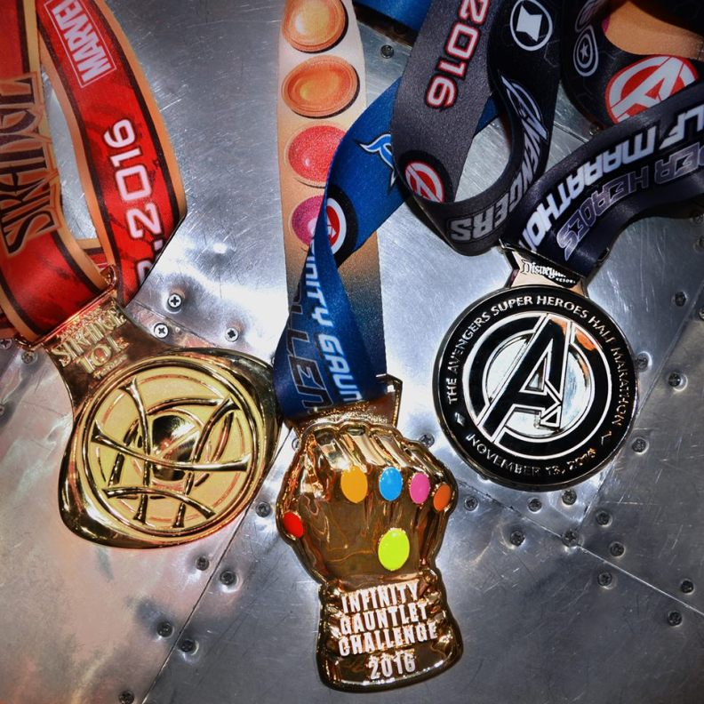 2016 Avengers Medals