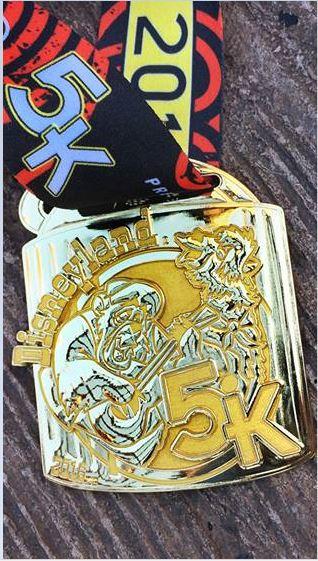 2016 DL 5K Medal