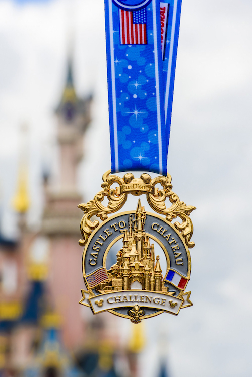 Castle to Chateau Medal