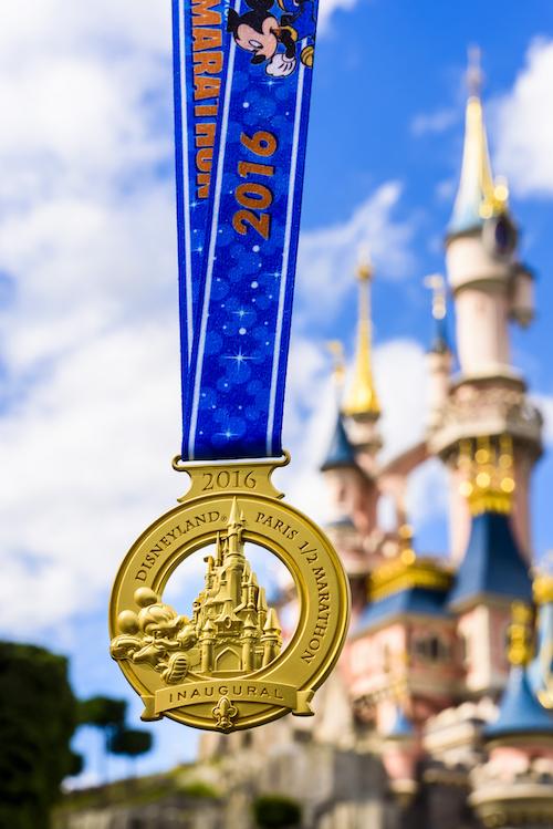 DLP Half Marathon Medal