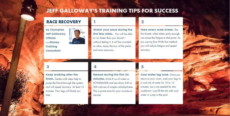 2016 DL Event Guide Jeff Galloway TIps
