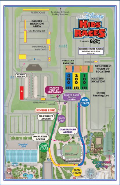 2016 DL Event Guide Kid Raes Map
